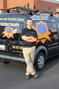 FoxCrest Security Company Van