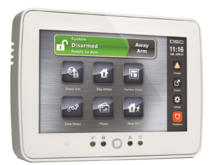 Alarm System Touchpad